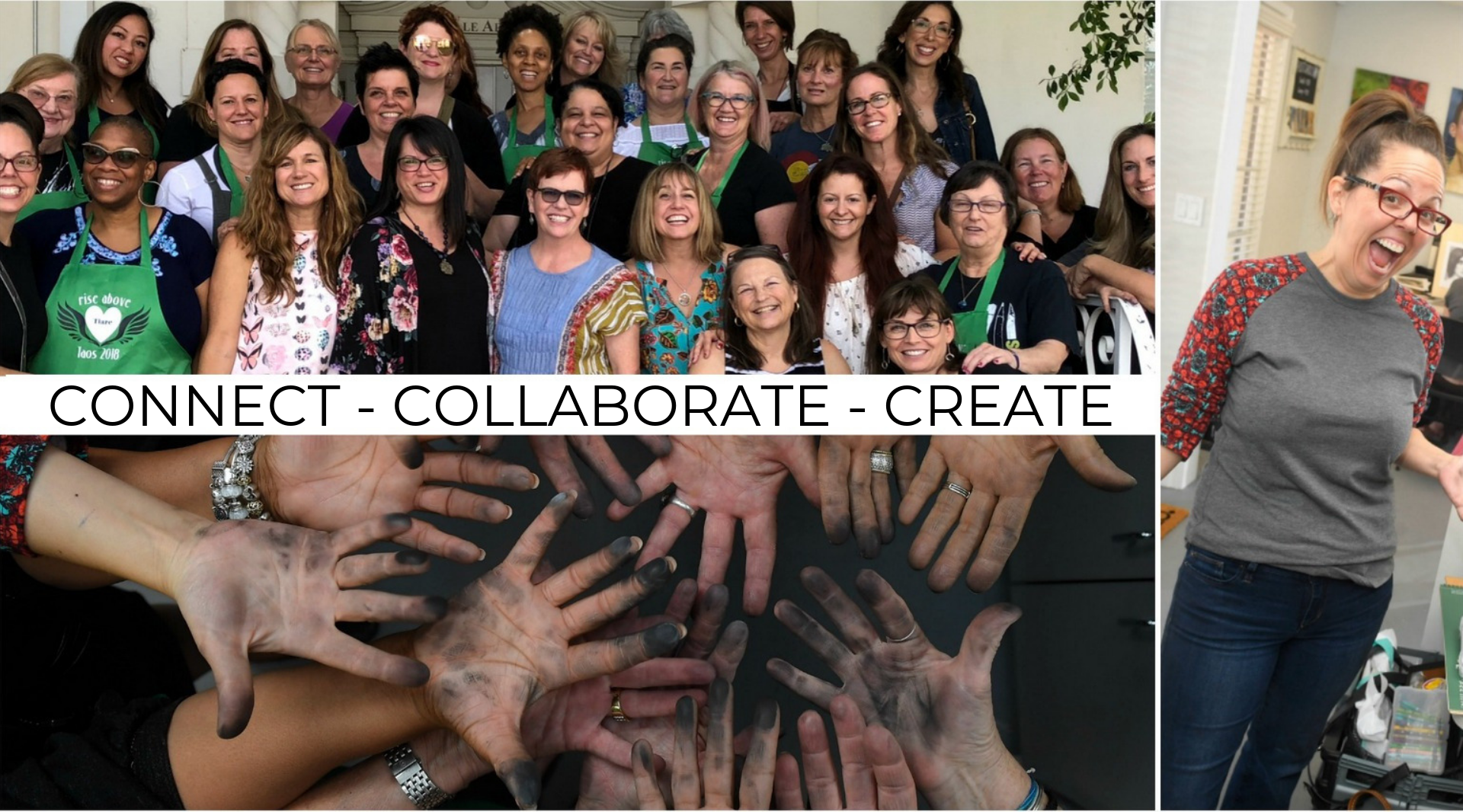 CONNECT - COLLABORATE - CREATE montserrat
